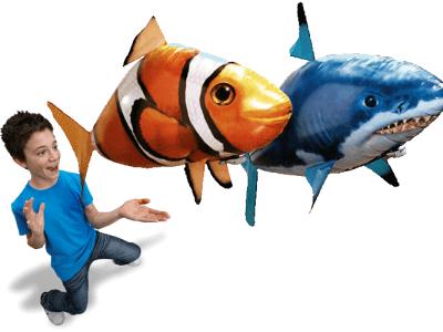 Инструкция по сборке летающей рыбы