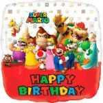 Шар Happy Birthday вкусный праздник