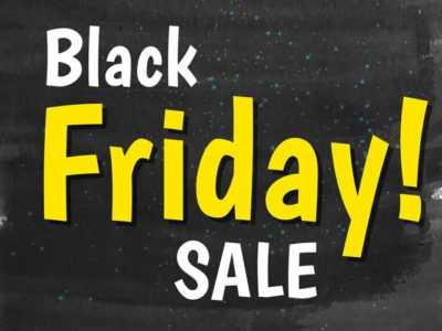 Черная черная пятница стартовала! Скидки и распродажи в магазине шариков!