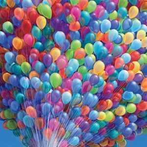Как производят воздушные шары!